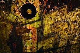 Graffiti Porthole by Scott Brock