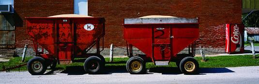 Grain Carts by Wayne Norton