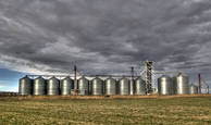 Silos by Aaron K. English