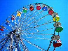 Spinning Wheel by Alan Wood