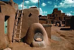 Taos Pueblo by Clifford Baker