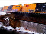 Snow Boxcars by Jan Wolyniak