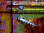 Door Handle by Michael R. Stoklos