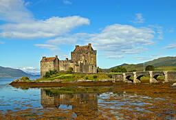 Eilean  Donan Castle by Rick Kramer