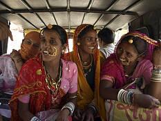 Rajasthani Women by Anirudha