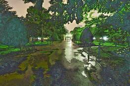 Boston Garden by Dennis H. Miller