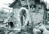 Preparing to Make Gravel By Hand by Frank Revi