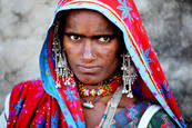 Tribal Woman 6 by James Johnson
