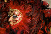 Carnival Venice Italy by Terry Bowker