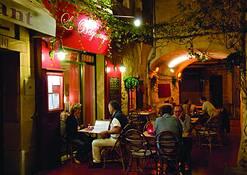 Cozy Cafe by Donald Dashfield