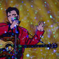 Snow Globe Elvis by Kirsten Hoving