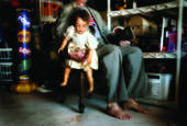 The Babysittter (3-photo composite) by Jeff Wiles