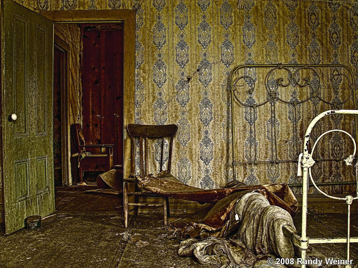 Year Old Bedroom By Randy Weiner Black White Magazine
