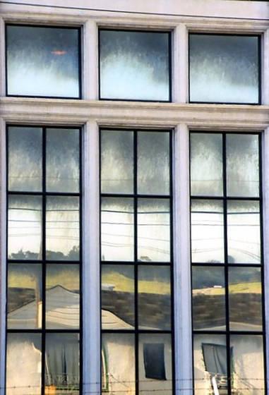 Sf window reflection