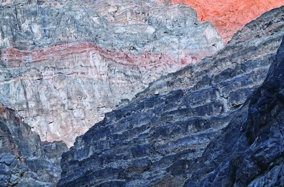 Titus canyon sunset