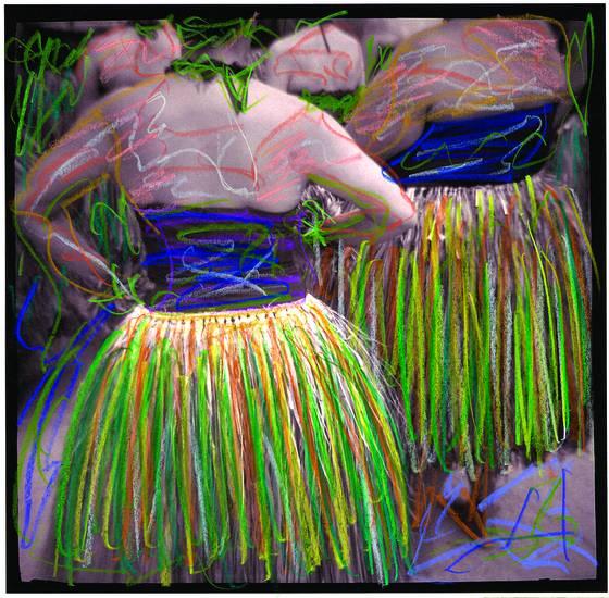 Ti leaf hula