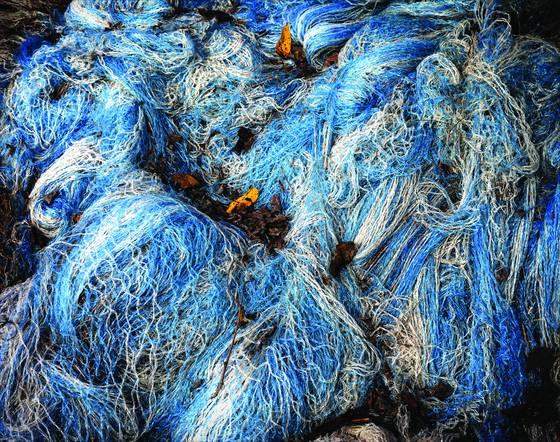 Hay bale netting