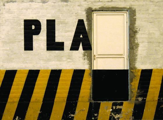 Door and pla