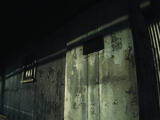 Door and shadow