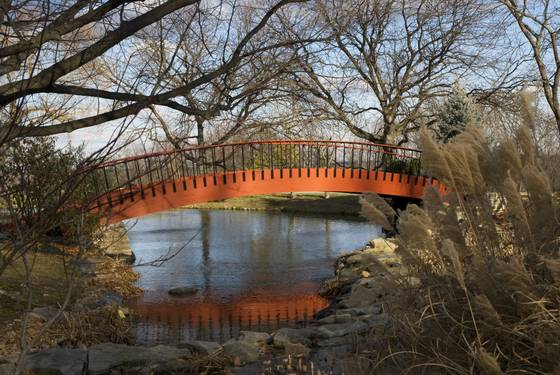 Foot bridge bon secours retreat