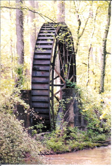 Gilreath mills wheel