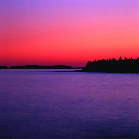 Marshall point sunset
