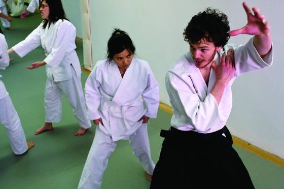 Instructing aikido beginners