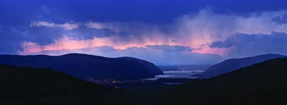 Hudson highlands squall
