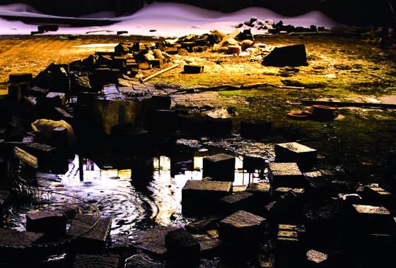 Factory floor oasis