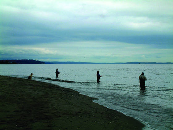 Fishing at point no point  6