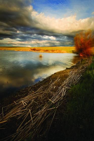 Blackwelder lake