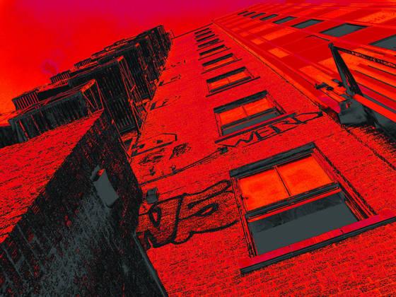Red derelict