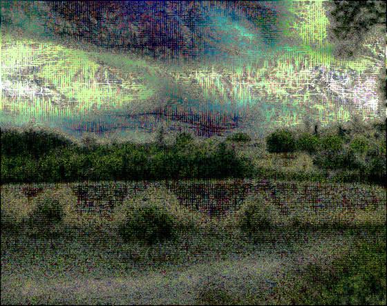Landscape metamorphosis  2