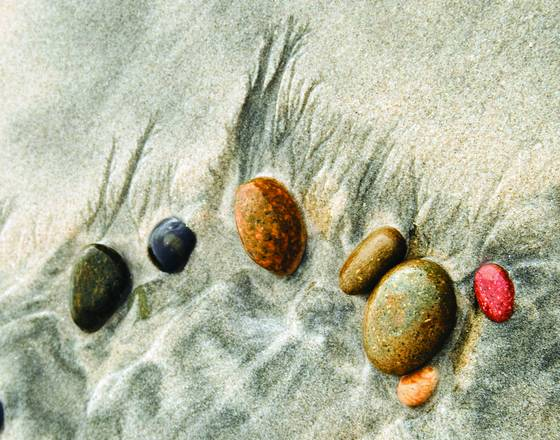 Sand and stone composition 2