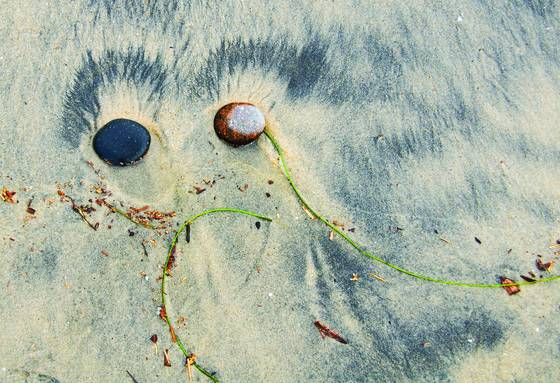 Sand and stone composition 4