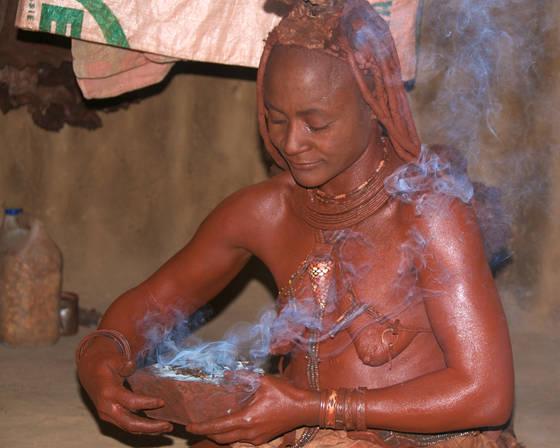 Himba ceremony