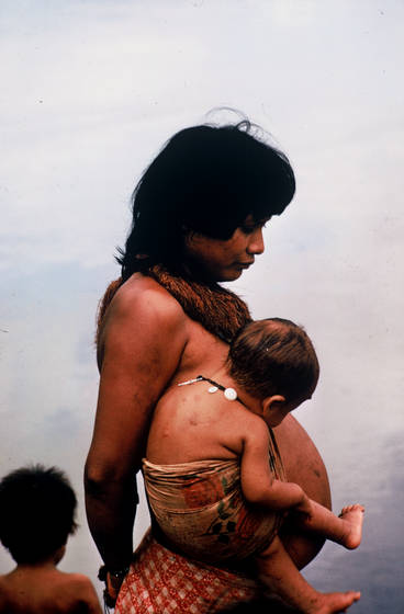 Pregnant yagua   kids