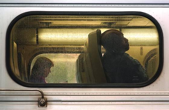 Amtrak passengers