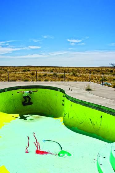 A pool too steep