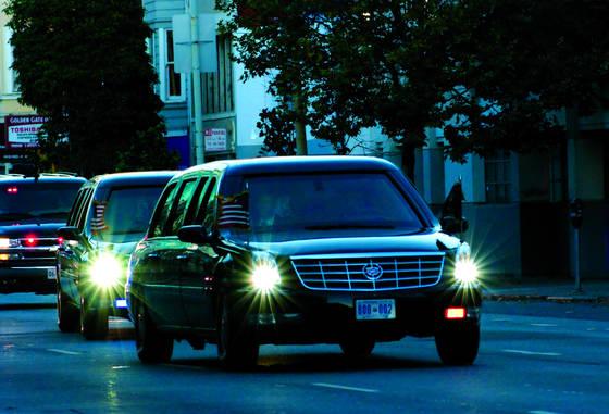 President obama cadillac one