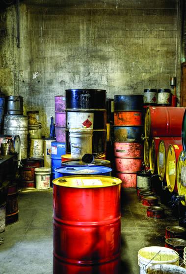 Oil room
