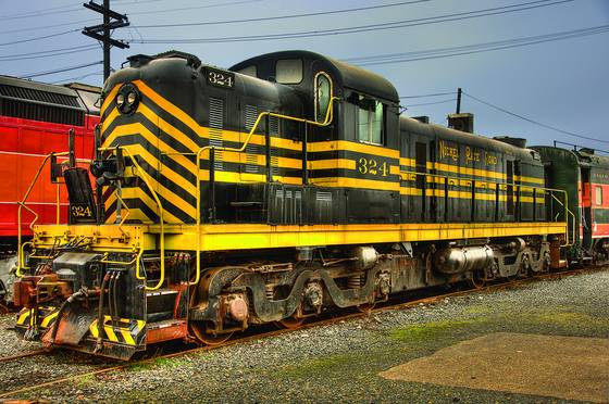 Brooklyn yard locomotive