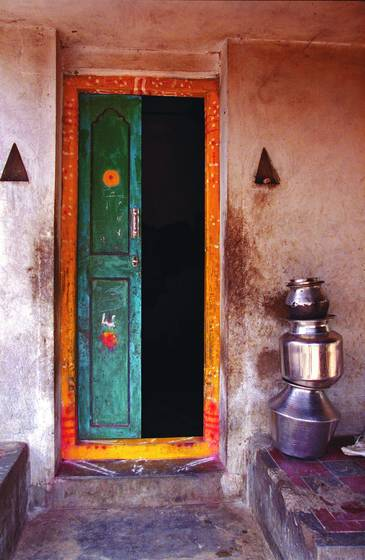 Village doorway