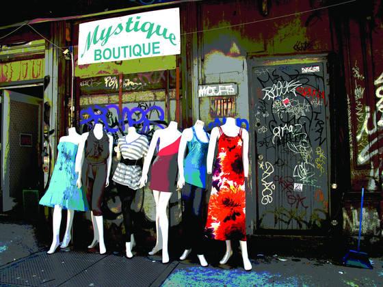 Alley shop