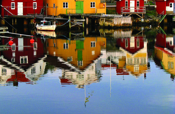 Reflections of a fishing village