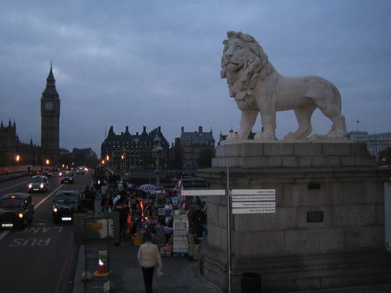 The lion of london