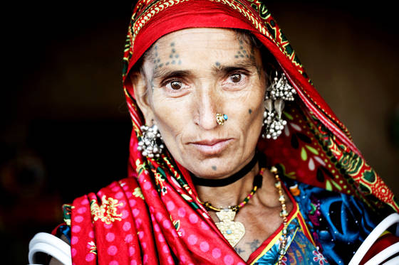 Tribal woman 2