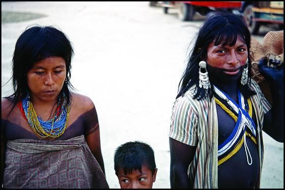 Embera family
