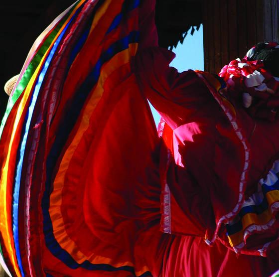 Folkloric dancer