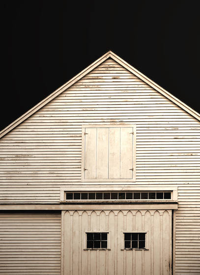 Dark sky barn